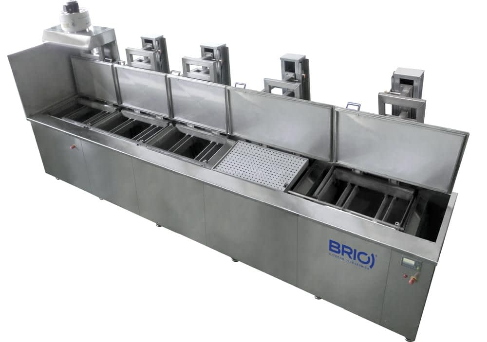 BRIO-multistage-ultrasonic-cleaning-equipment