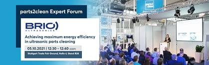 publication experts forum parts2clean efficacité énergétique nettoyage à ultrasons