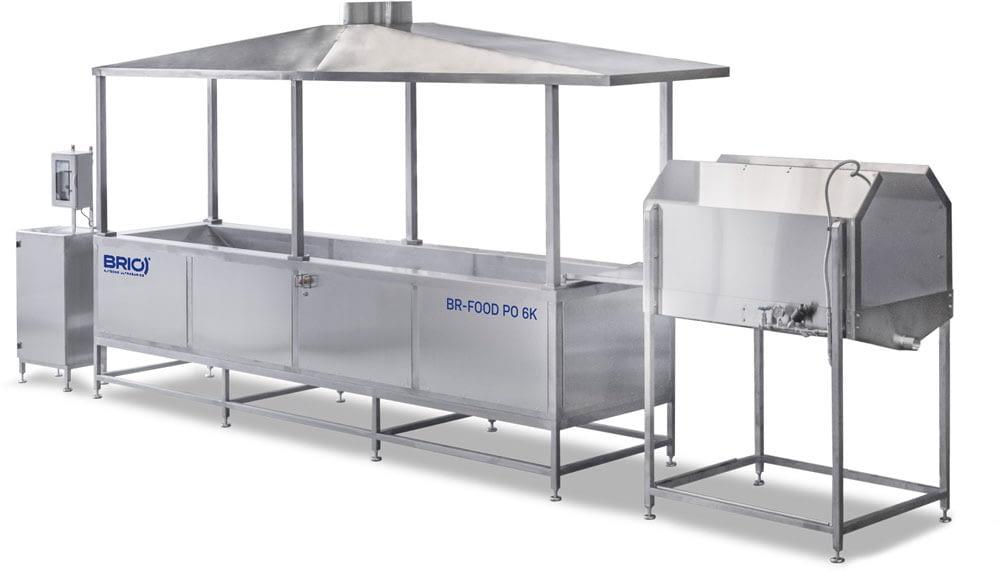 Maquina limpieza ultrasonidos alimentacion BR-FOOD-PO-6K