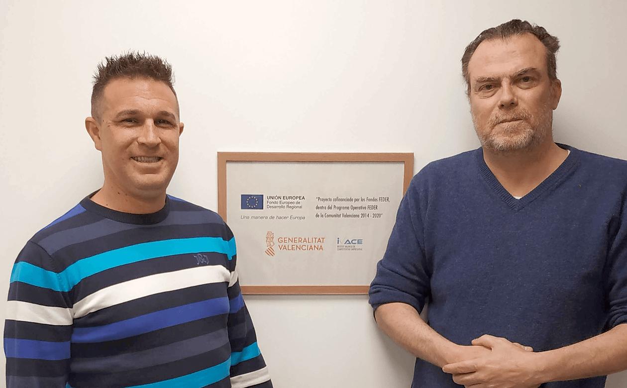INTASVAL y AJ TECNO - BRIO. Colaboracion apoyada por fondos FEDER y el IVACE